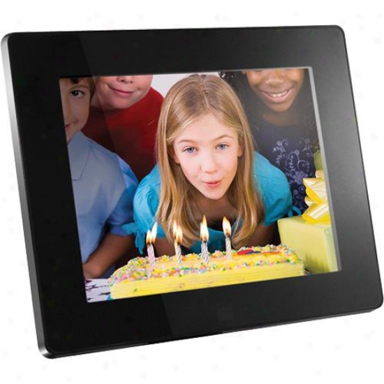 "Aluratek Admpf108f 8"" Digital Photo Frame W/ 512mb Memory Included"