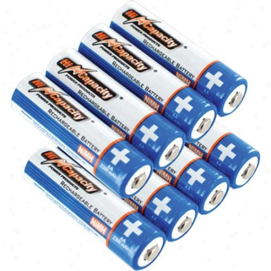 Battefy Biz 8-pack Aa Nimh Batteries