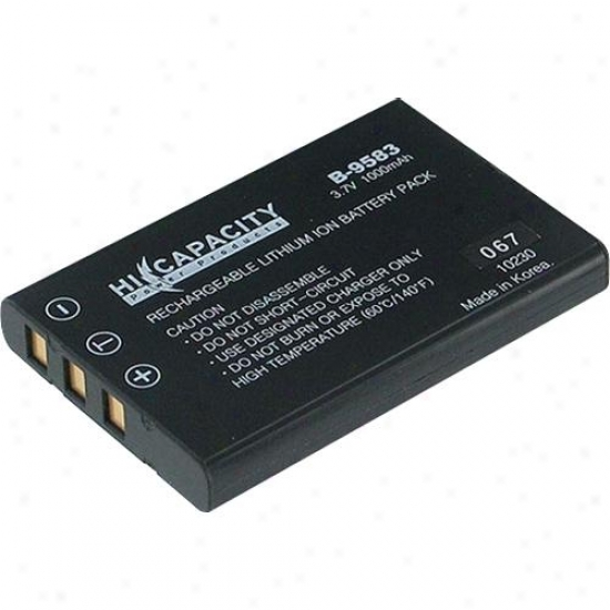 Battery Biz Casio/fuji/olympus Battery