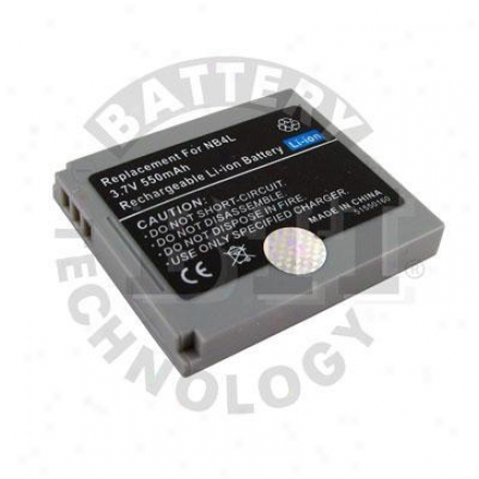 Battery Technologies Camcorder Battery For Canon