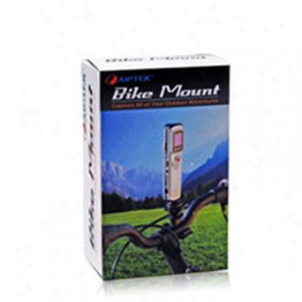Bicycle Mount For Camera, Camcorder, Gps, Radio, Lcd Adjustable
