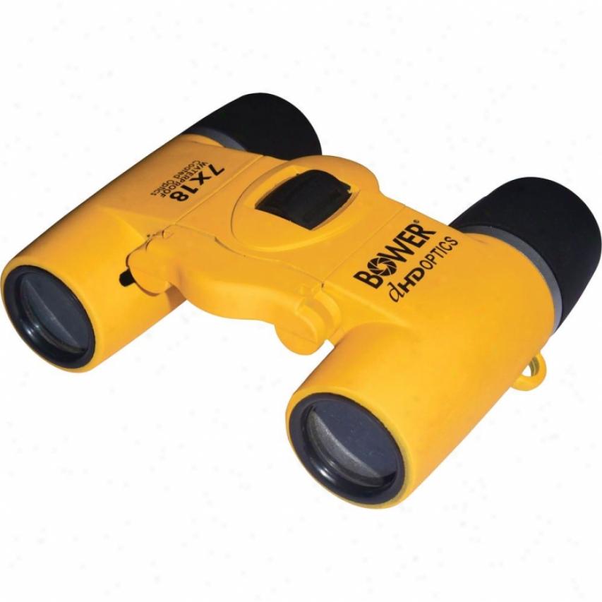 Boeer Compact 7x18 aWterproof Binoculars Bri718y - Yellow