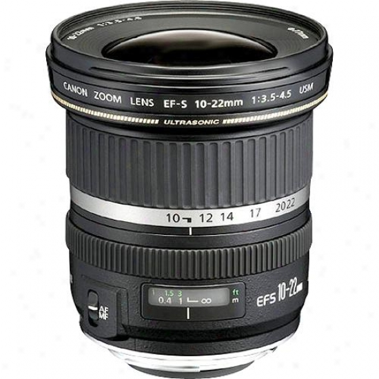 Canon 10-22mm F/3.5-4.5 Ef-s Zoom Usm