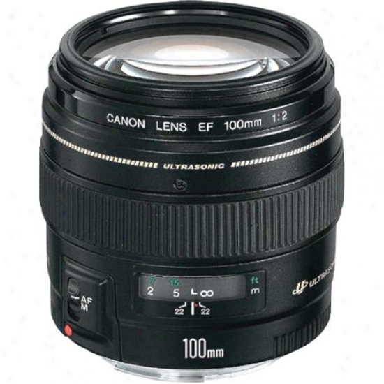 Canon 100mm F/2.0 Ef Telephoto Lens Usm