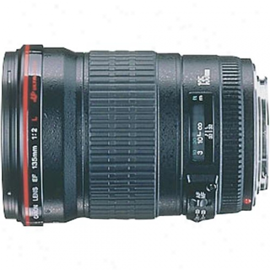 Canon 135mm F/2l Ef Telephoto Lens Usm