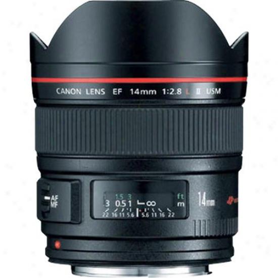 Canon 14mm F/2.8l Ef Ii Ultra Wide-angle Lens Usm