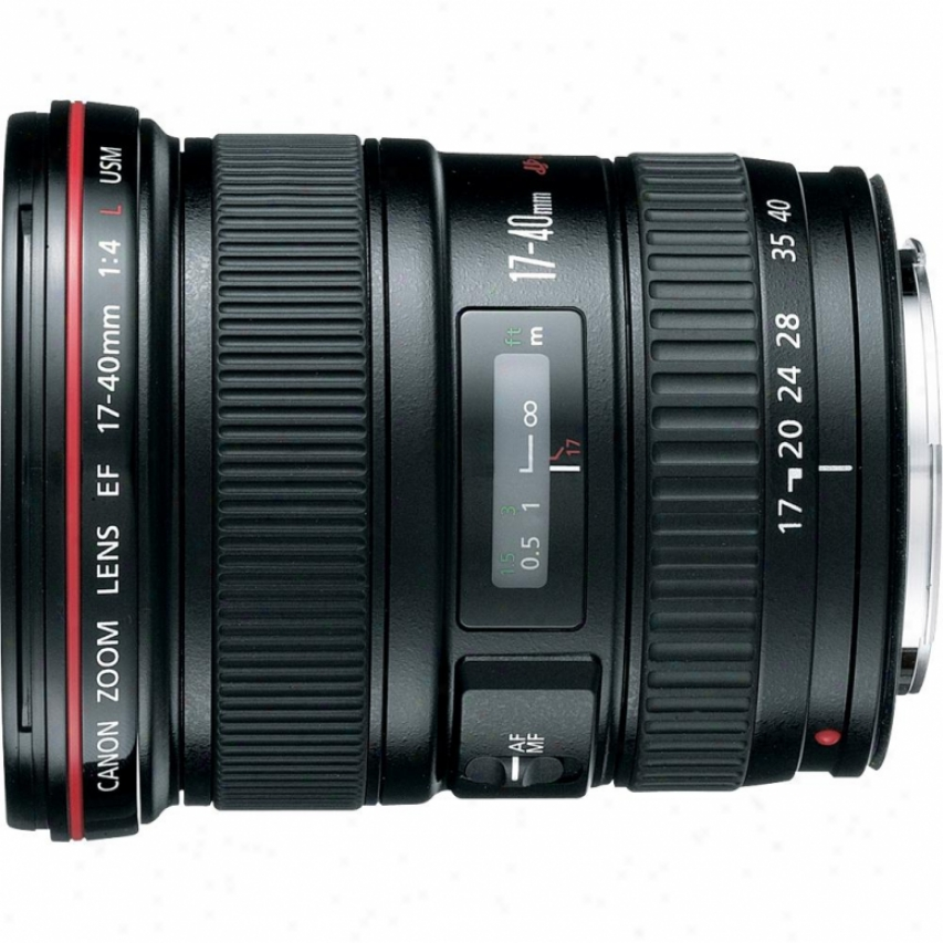 Canon 17-40mm F/4l Ef Ultra Wide Difference of direction