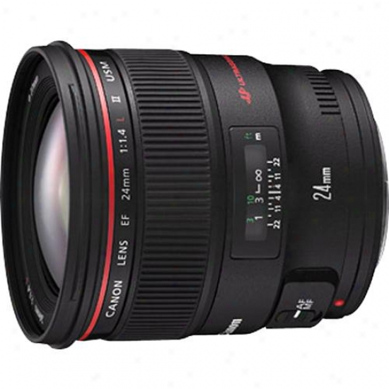 Canon 24mm F/1.4 Ef L Ii Usm Lens With Declension-form