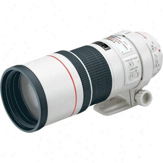 Canon 300mm F/4l Ef Is Telephoto Lens Usm