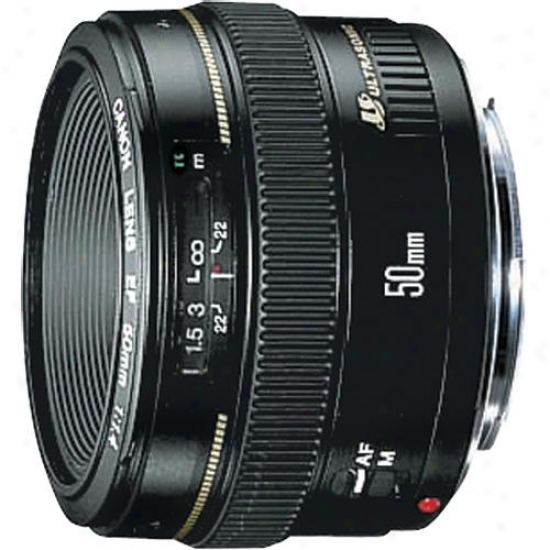 Canon 50mm F/1.4 Ef Autofocus Lens Usm