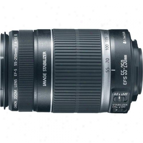 Canon 55-250mm F/4-5.6 Ef-s Is Telephoto Zoom Lens