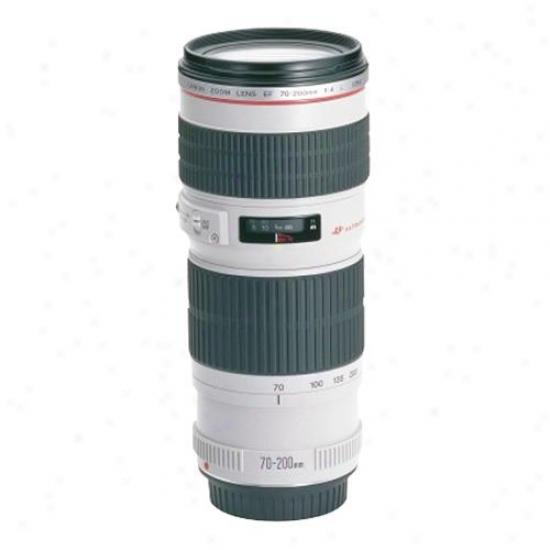 Canon 70-00mm F/4.0l Ef Zoom Lens Usm