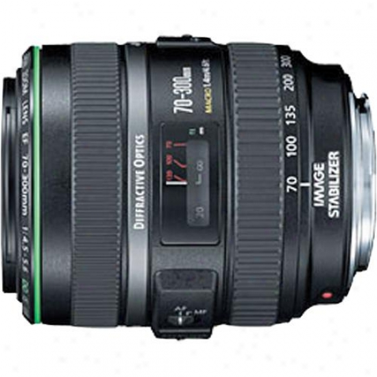 Canon 70-300mm F/4.5-5.6 Ef Telephoto Zoom Lens Usm