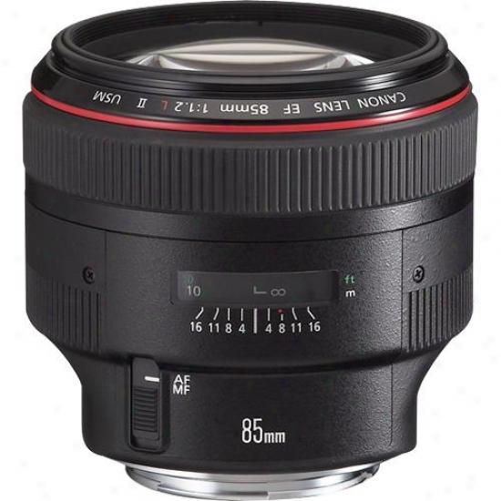 Canon 85mm F/1.2 Ef L Ii Telephoto Lens Usm