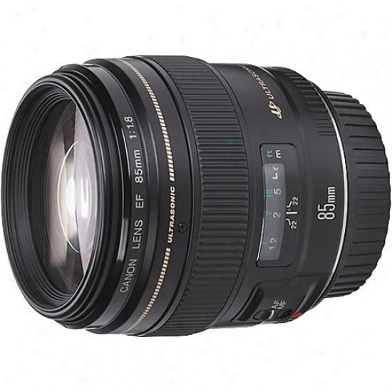 Canon 85mm F/1.8 Succession Ef Telephoto Lens Usm