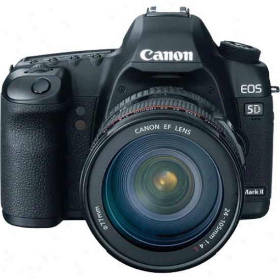 Canon Eos 5d Mark Ii - 21 Megapixel Digital Slr Kit With 24-105mm Lens