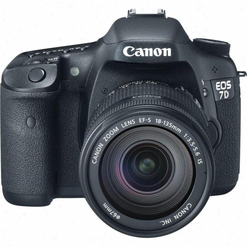 Canon Eos 7d 18 M3gapixel Digital Sllr Camera Kid