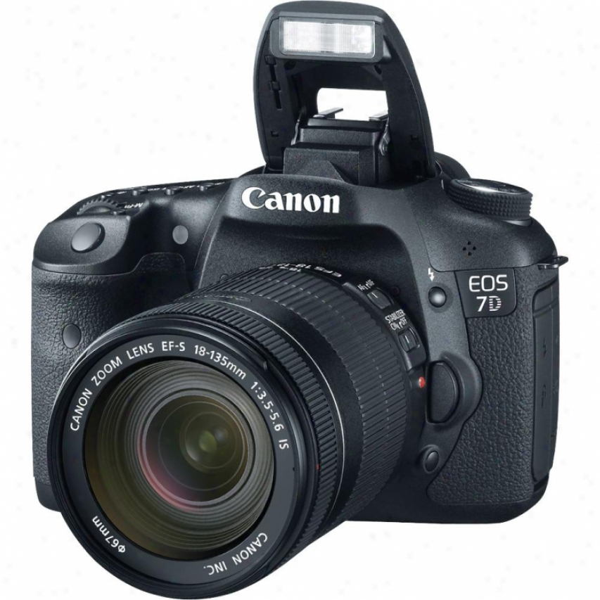Canoj Eos 7d Slr 18 Megapixel Digital Camera Kit