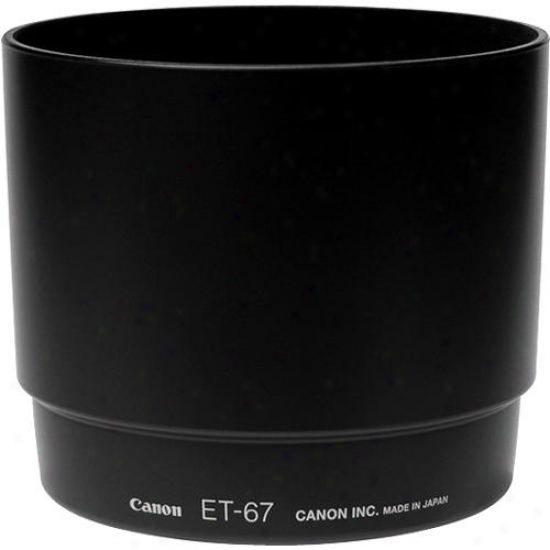 Canon Et67 Lens Hood For Ef 100 F/2.8 Macro Usm Lens