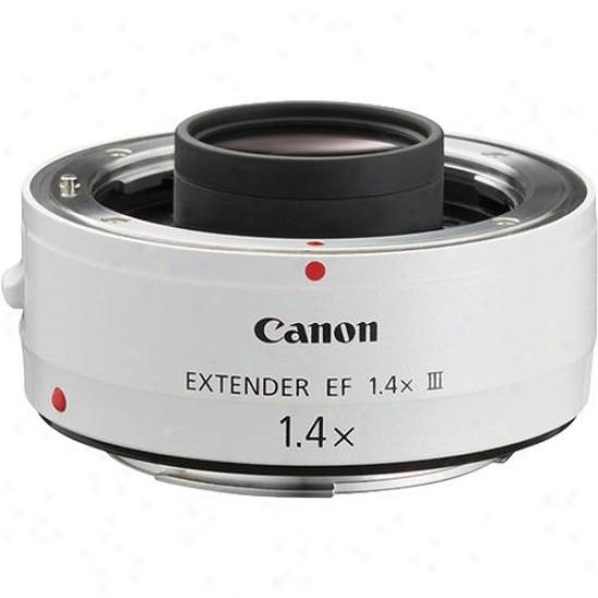 Canon Extender Ef 1.4x Iil Super Telephoto Extender Lens Adapter