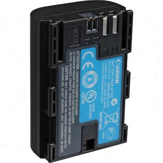 Canon Lp-e6 Lithium Ion Battery For Use Attending The Canon Eos 5d Mk Ii