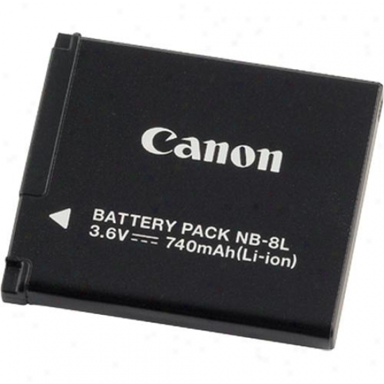 Canon Nb8l Rechargeable Battery For Canon A3000 And A3100 Cameras