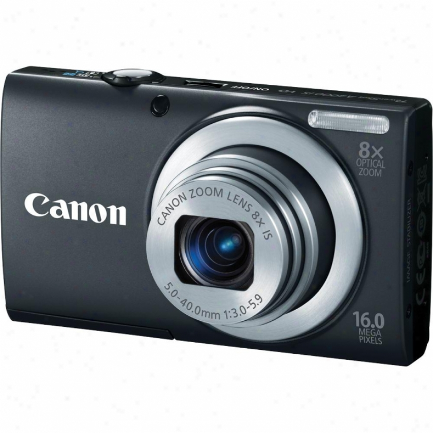 Canon Powershot A4000 Is 16 Megapixel Digital Camera - Black