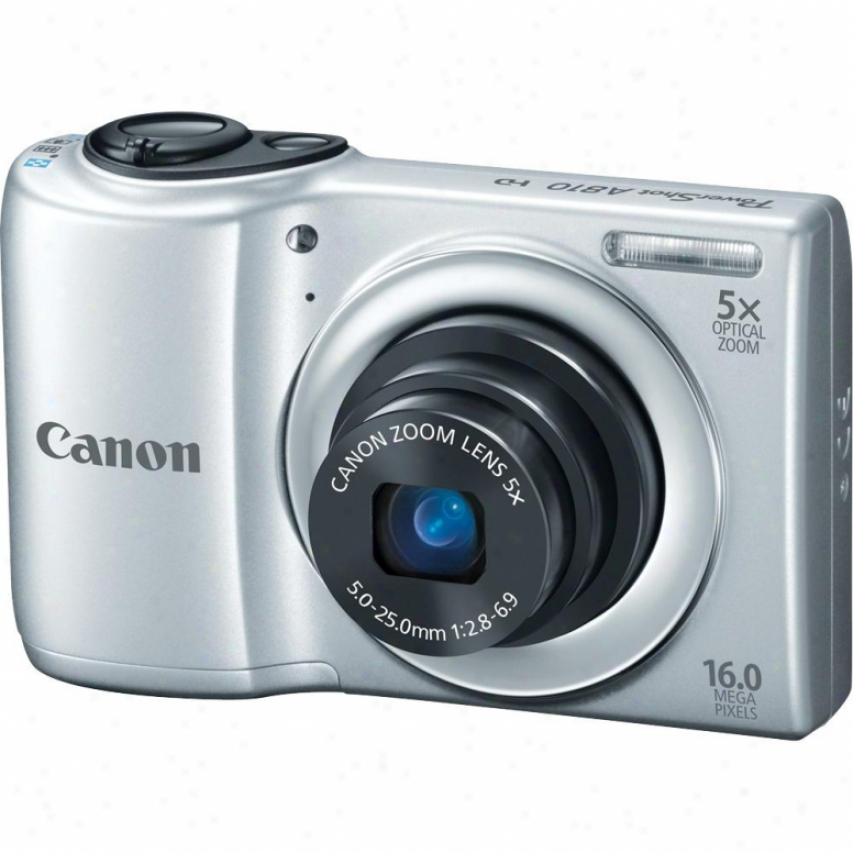 Canon Powershot A810 16 Megapixel Digital Camera - Silver