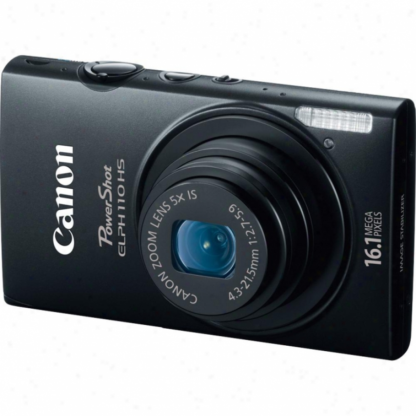 Canon Powershot Elph 110 Hs 16 Megapixel Digital Camera - Black