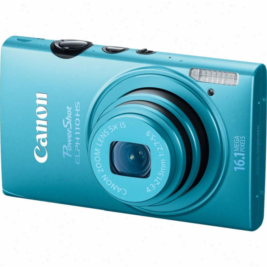 Canon Powershot Elph 110 Hs 16 Megapixel Digital Camera - Blue