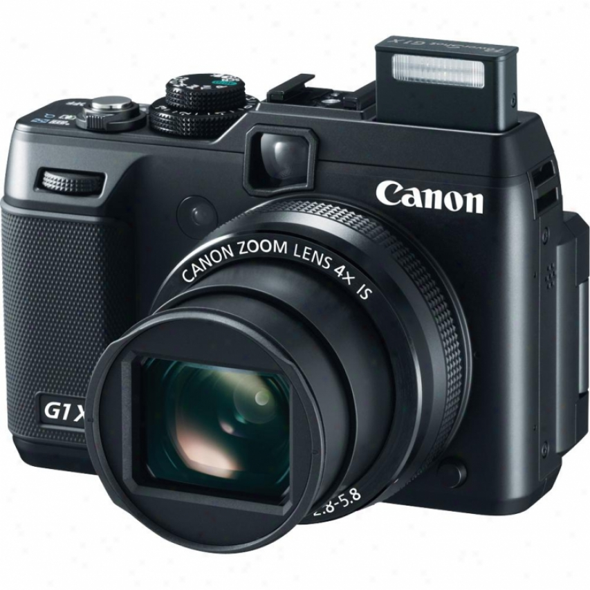 Canon Powershot G1 X 14 Megapixel Digital Camera - Black