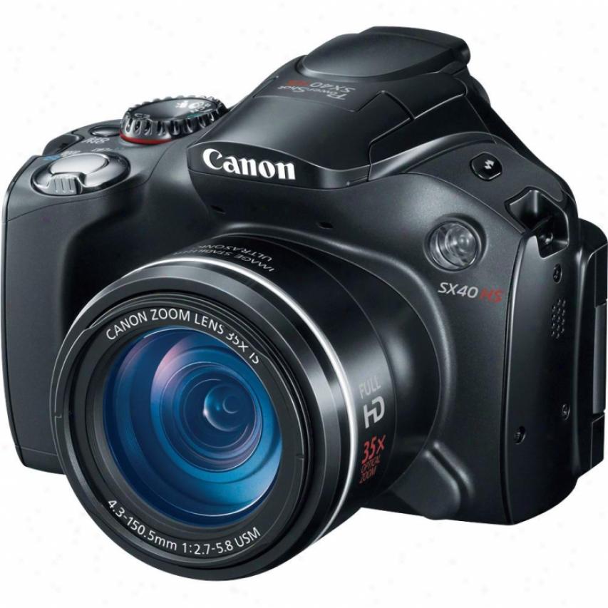 Canon Powershot Sx40 Hs 12 Megapixel Digitl Camera