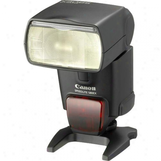 Canon Speedlite 580ex Ii Electornic Flash For Eos And G-series Digital Cameras