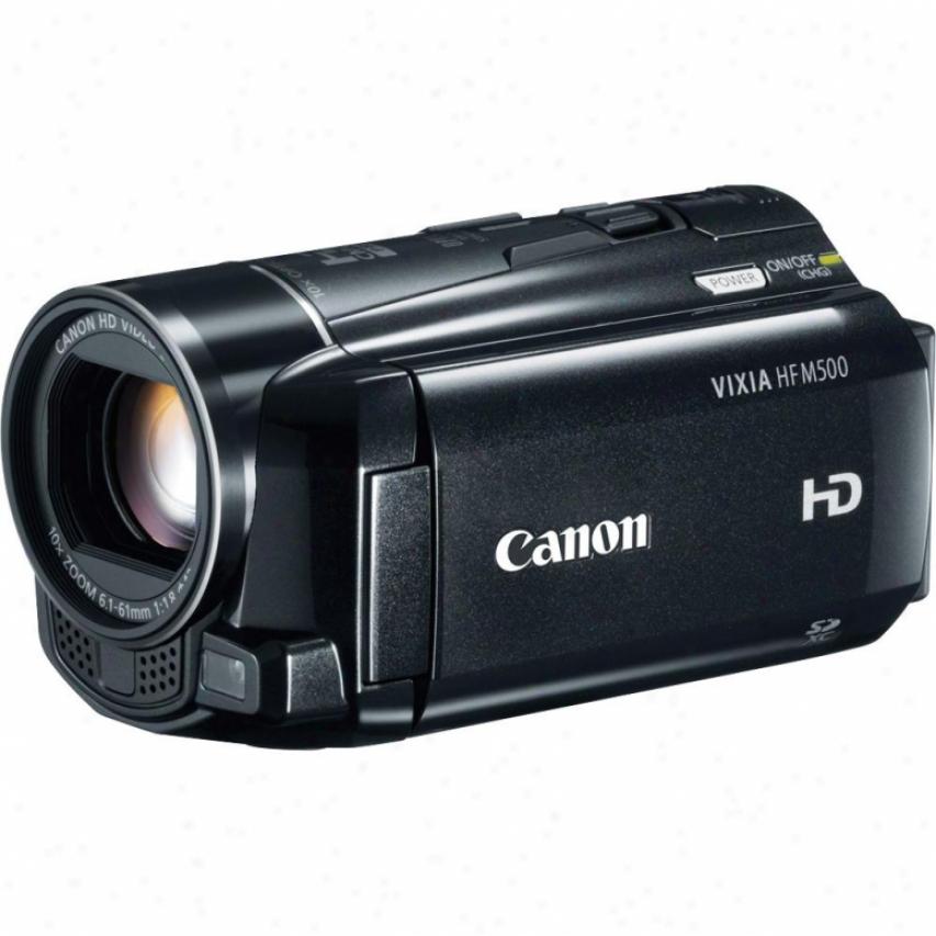 Canon Vixia Hf-m500 Hd Camcorder
