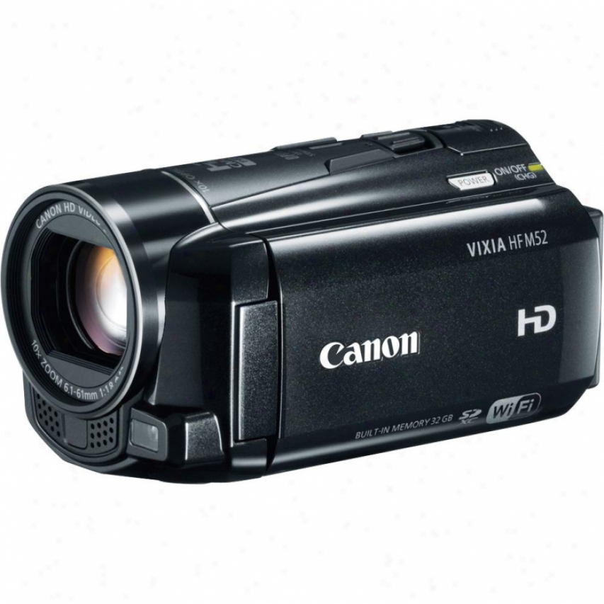 Canon Vixia Hf-m52 Hd Camcorder
