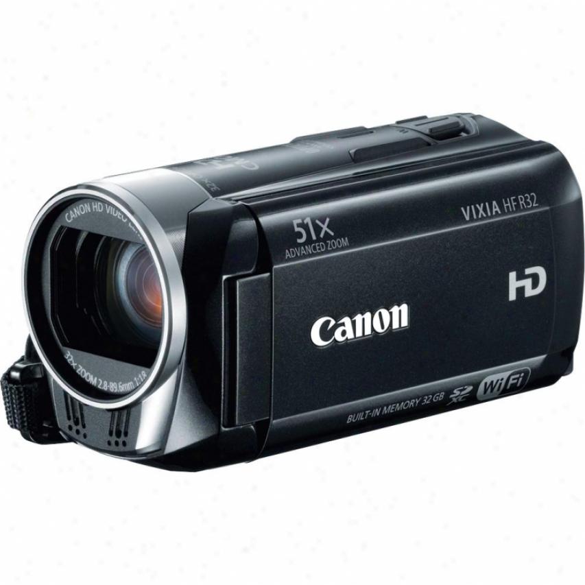 Canon Vixia Hf-r32 Hd Camcorder