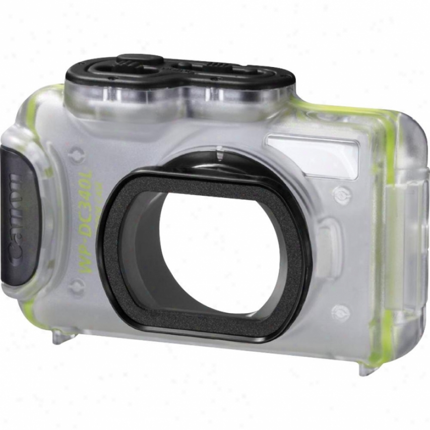 Canon Wp-dc340l Waterproof Case For Powershot Elph 520 Hs Digital Camera