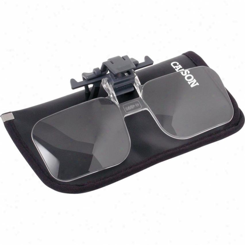Carson Optical Cf-10 Clip & Flip Eyeglass Magnifier