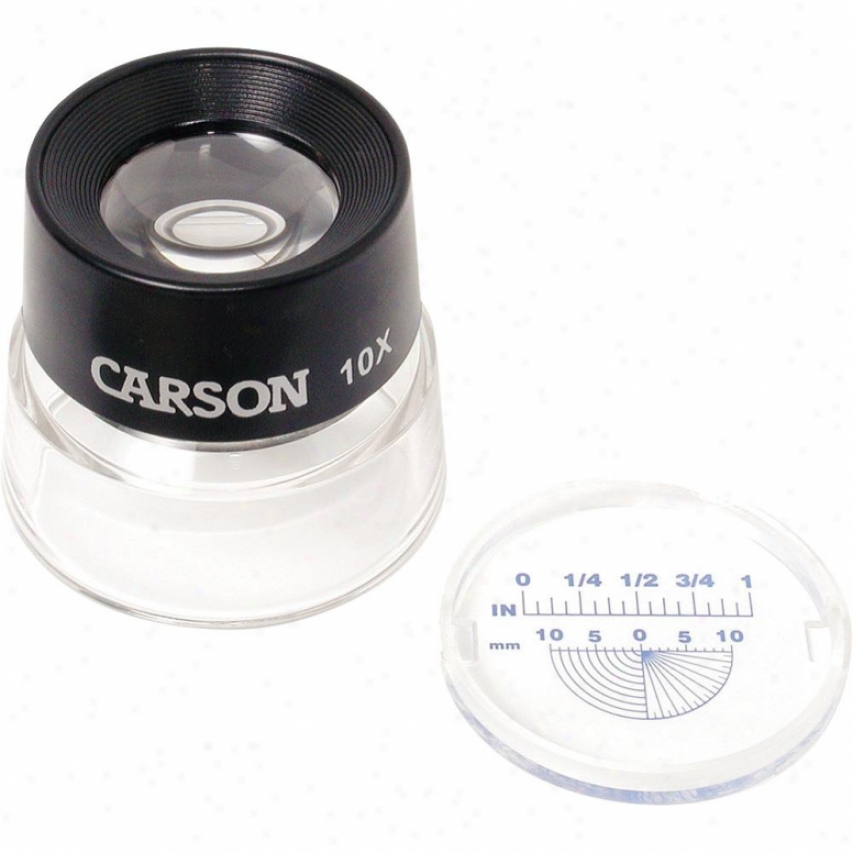 Carson Optical Lumiloupe 10x Magnifier
