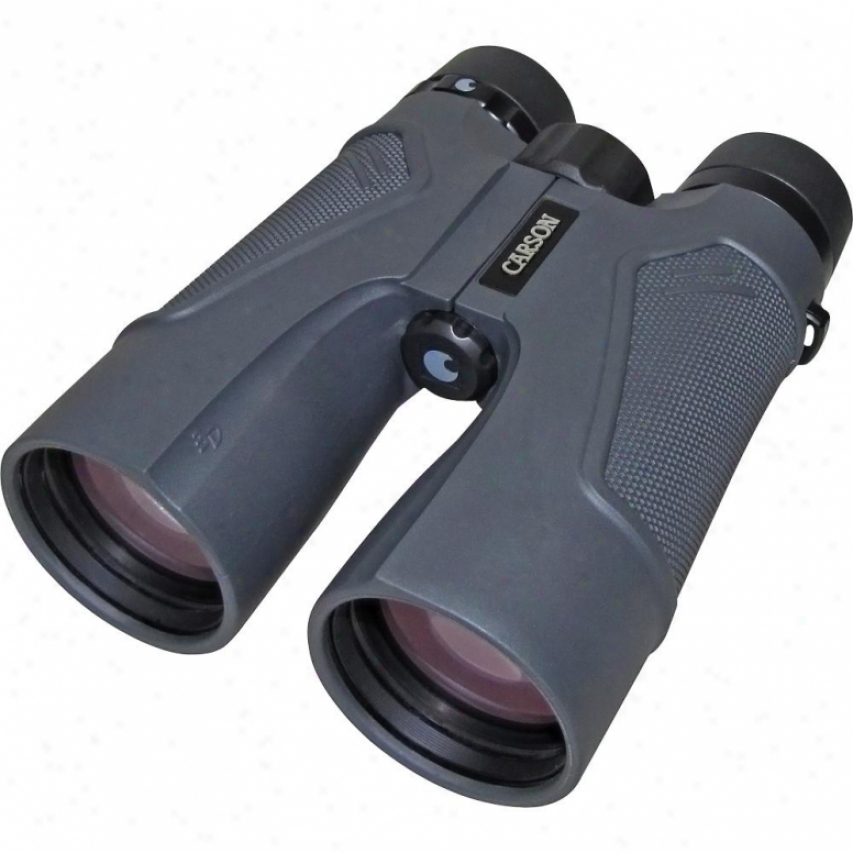 Carson Optical Td-050 10x50 Waterproof Binoculars With Pouch And Strap
