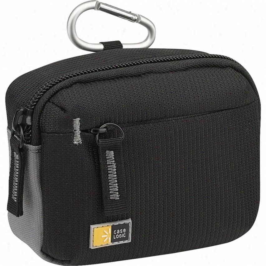 Case Logic Medium Camera/flash Camcorder Case - Black