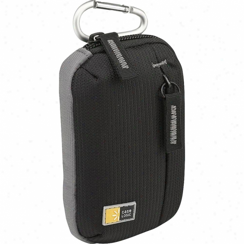 Case Logic Ultra Compact Camera Instance W/ Storage - Black