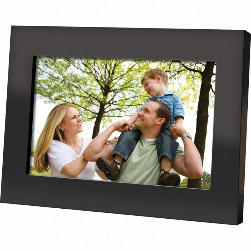"Coby Dp700blk 7.O"" Digital Photo Frame - Black"