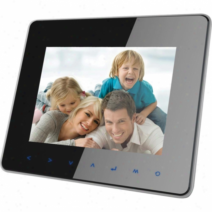 "Coby Dp870 8"" Digital Photo Frame With Multinedia Playback"