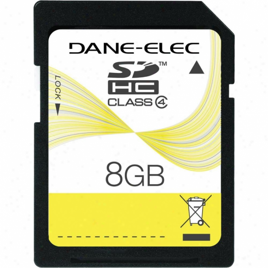Dzne-elec 8gb Secure Digital High Capacity Memory Card