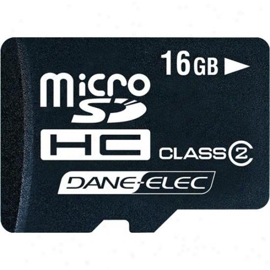 Dane-elec Dnl 16gb Microsdhc Memory Card