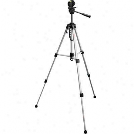 "Digipower Solutions 53"" Tripod W/3 Way Pan Head"