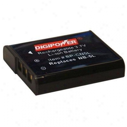 Digi;owef Solutions Replacement Battery Canon Nb5l