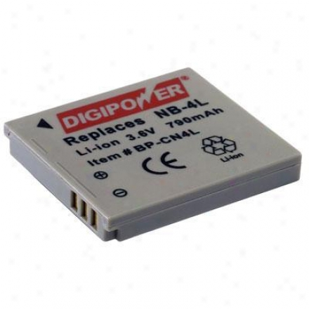Digipower Solutions Replacement Battery Canonnb4l