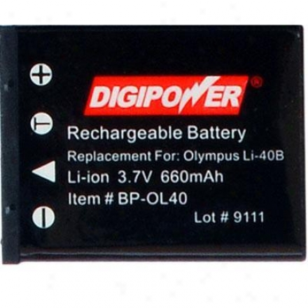 Digipower Solutions Replacement Btry Olympus Li40b